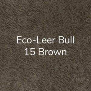 Eco leer Bull 15 Brown