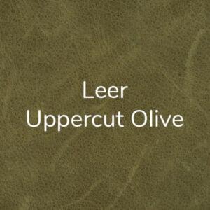Leer Uppercut - Olive