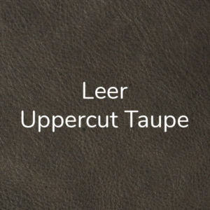 Leer Uppercut - Taupe
