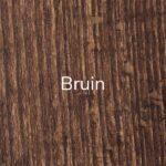 Pootkleur Bruin