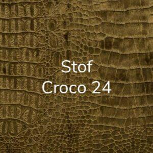 Stof Diva Croco 24