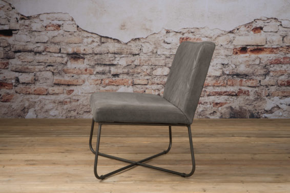 Tower Living Fauteuil 'Rodeo' - Leder Stone