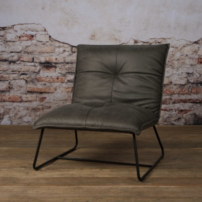 Tower Living Fauteuil 'Seda' - grijs