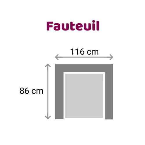 Zittz Angela Fauteuil