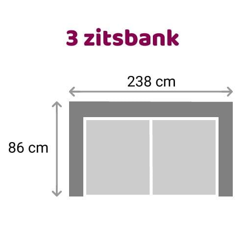 Zitzz Carmen Bank 3 zits