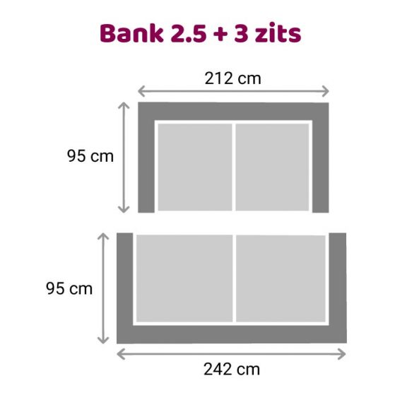 Zitzz Maya - Bank 2,5-3 zits