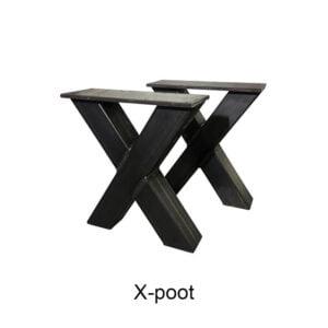 X-poot 10x10 cm