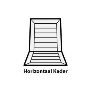 Horizontaal Kader