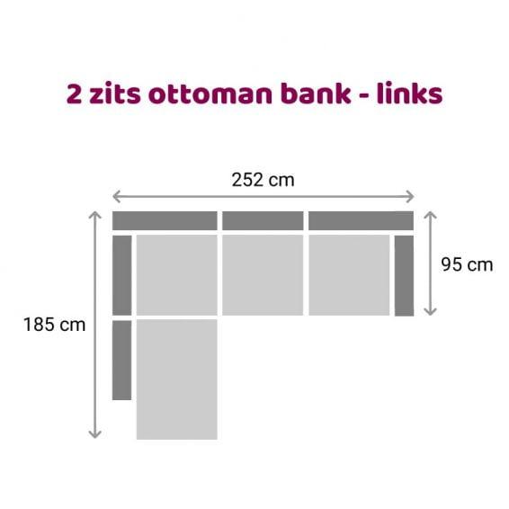 Zitzz Maya Ottoman 2 zits links