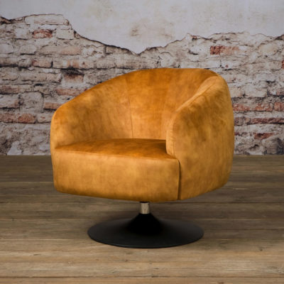 Fauteuil Barga - Stof Velvet Bliss 13 gold