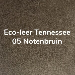 Eco-leer Tennessee Notenbruin (05)