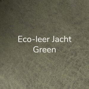Eco-leer Jacht Green