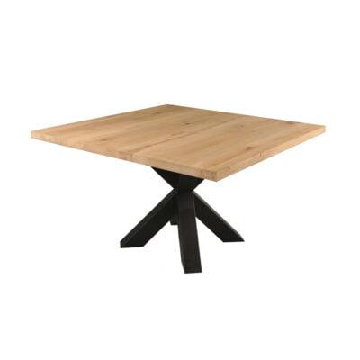 Eiken Eettafel Rustiek – Vierkant