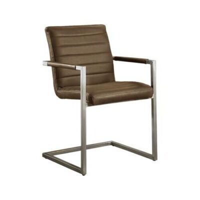 Tower Living - Eetkamerstoel Bastia - Stof Vintage Brown