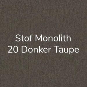 Stof Monolith 20 – Donker Taupe – Velvet