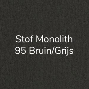Stof Monolith 95 – Bruin/Grijs – Velvet